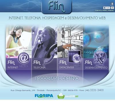 FLIN: Internet, Telefonia , Hospedagem e Desenvolvimento WEB